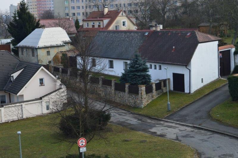 Kovářova 39 - pohled z terasy